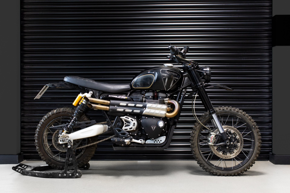 Triumph Scrambler 1200 XE No Time To Die
